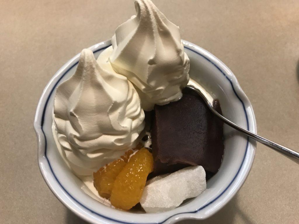 ダブルソフトクリーム