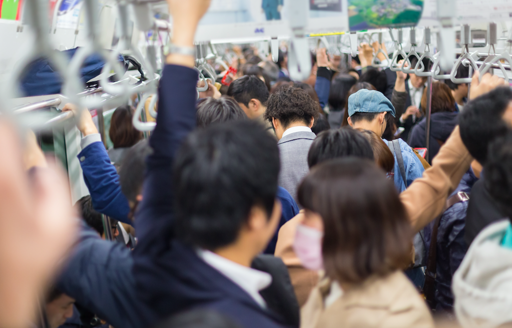 満員電車・原則出社・日本の企業・求められるもの・忠誠心・我慢・礼儀 | Furublog