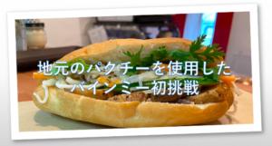 【2020】神戸元町バインミー83 (Bánh mì)・新鮮パクチーで食べる(越)サンドイッチ
