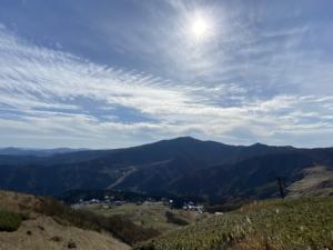 氷ノ山ブン回しコース+鉢伏山・登山ルート【2020年11月6日】