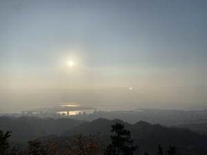 【2020/四季を感じる毎日登山レポート】六甲全山縦走コース・菊水山山頂 vol.2】